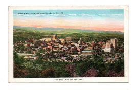 ETATS-UNIS . NORTH CAROLINA . ASHEVILLE . BIRD'S-EYE VIEW OF ASHEVILLE - Réf. N°6660 - - Asheville