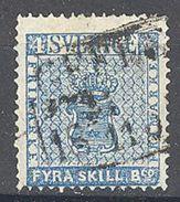 Suèdee: Yvert N° 2°; Cote 100.00€ - Suède