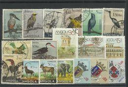 Angola - Bulk Lot Of 18 Used Stamps - Pkt. 50 - Angola