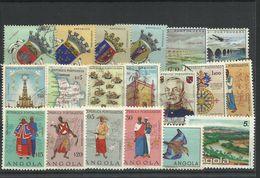 Angola - Bulk Lot Of 19 Used Stamps - Pkt. 51 - Angola
