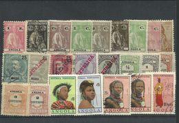 Angola - Bulk Lot Of 24 Used Stamps - Pkt. 53 - Angola