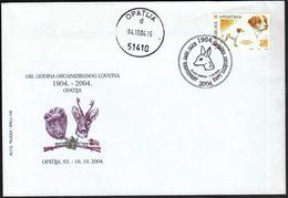 Croatia Opatija 2004 / 100 Years Of Organized Hunting / Deer, Fawn - Croatie
