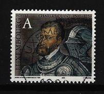 LUXEMBURG - Mi-Nr. 1494 - 500. Geburtstag Von Kaiser Karl V Gestempelt (2) - Gebruikt
