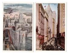 ETATS-UNIS . NEW YORK . 2 CARTES POSTALES - Réf. N°6681 - - New York City