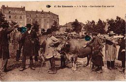 87 ..EN LIMOUSIN .. A LA FOIRE .. CONCLUSION D'UN MARCHE - France