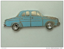 PIN'S   RENAULT DAUPHINE BLEUE - EMAIL - Renault