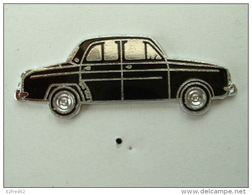 PIN'S   RENAULT DAUPHINE NOIRE - EMAIL - Renault