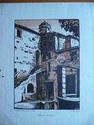 Villeneuve-lès-Avignon - Maurice De Becque - Ed. Dalloz - Lithographies