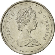 Canada, Elizabeth II, 25 Cents, 1988, Royal Canadian Mint, Ottawa, TTB+, Nickel - Canada