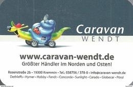 SNAIL * ANIMAL * MOTORHOME * CARAVAN * KREMMIN * CALENDAR * Caravan Wendt 2013 * Germany - Calendari