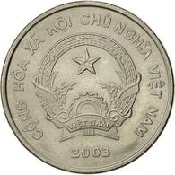 Viet Nam, SOCIALIST REPUBLIC, 500 Dông, 2003, Vantaa, TTB+, Nickel Clad Steel - Viêt-Nam