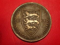 Jersey - 1/12 Shilling 1909 Edward VII 4794 - Jersey