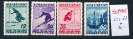 Österreich Nr. 623-26 * (se8945  ) Siehe Bild - 1918-1945 1ère République