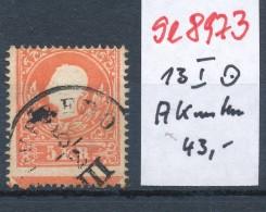 Österreich Nr.  13 I  AK Unten   O (se8973  ) Siehe Bild - 1850-1918 Imperium