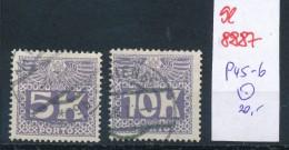 Österreich  Nr. Porto  45-46  O  (se8887  ) Siehe Bild - Impuestos