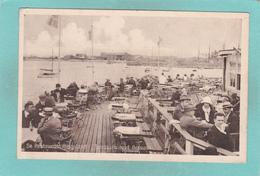 Small Old Postcard Of Restaurant Helgoland,Terrassen Mod Øresund.Denmark,V54. - Dänemark