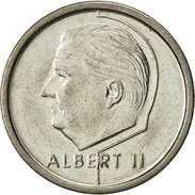 Belgique, Albert II, Franc, 1995, Bruxelles, TTB, Nickel Plated Iron, KM:187 - 02. 1 Franc