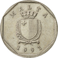 Malte, 5 Cents, 1991, TTB+, Copper-nickel, KM:95 - Malta