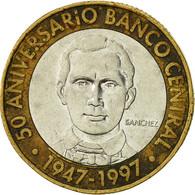 Dominican Republic, 5 Pesos, 1997, TTB, Bi-Metallic, KM:88 - Dominicana