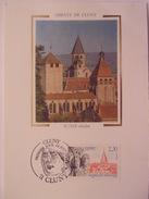 FRANCE CARTE MAXIMUM. 1990 YVERT 2657 ABBAYE DE CLUNY - Maximumkaarten