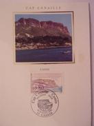 FRANCE CARTE MAXIMUM. 1990 YVERT 2660 CAP CANAILLE A CASSIS - Maximumkaarten