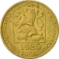 Tchécoslovaquie, 20 Haleru, 1986, TTB, Nickel-brass, KM:74 - Czechoslovakia