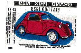 IMAGE TATOUAGE TATOO AUTOMOBILE GRAND PRIX N29 FIAT 500 1936 - Cromos