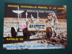Guinée équatoriale Espace Apollo 15 Cosmonaute Lune - Space