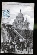 PARIS  MONTMARTRE - Transport Urbain En Surface