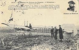 """Monoplan Du Prince De Nissole """"L'Albatros"""" En 1911 - Edition J. Hauser, Carte N° 1278 - ....-1914: Précurseurs"""