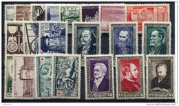 FRANCE - Année Complète De 1952 21 Valeurs  Neufs Luxe** Cote 116€ Référence  52 - France