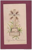 061017 RELIQUAIRE IMAGE PIEUSE RELIGION - étoffe Du Père Lacordaire - Images Religieuses