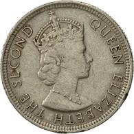 Mauritius, Elizabeth II, 1/4 Rupee, 1975, TTB, Copper-nickel, KM:36 - Mauritius
