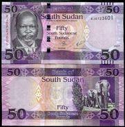 South Sudan 50 Pound4 2017 UNC - Soudan Du Sud