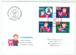 Suisse /Schweiz/Svizzera/Switzerland // FDC // 2010 //  Pro-Juventute 2010  1er Jour - Lettres & Documents