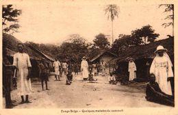 CONGO BELGE - QUELQUES MALADES DU SOMMEIL - Congo Belge - Autres