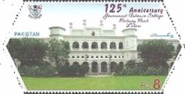 Pakistan 2017 Govt. Islamia College 125 Years Odd Shaped 1v Mint - Pakistan