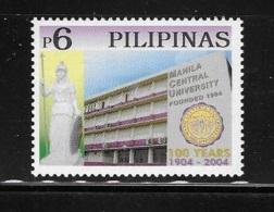 Philippines 2004 Manila Central University MNH - Philippines
