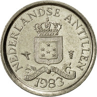 Netherlands Antilles, Juliana, 10 Cents, 1983, TTB+, Nickel, KM:10 - Antilles Neérlandaises
