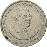 Mauritius, 5 Rupees, 1991, TTB, Copper-nickel, KM:56 - Mauritius
