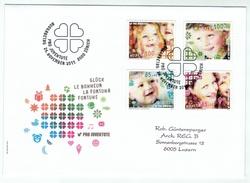 Suisse /Schweiz/Svizzera/Switzerland // FDC // 2011 //  Pro-Juventute 2011  1er Jour - Lettres & Documents