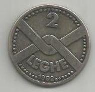 Lega Nord, 1992, 2 Leghe Alberto Da Giussano. - Monetary/Of Necessity