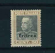 ERITREA -  TIPI DEL N° 218 -  NUOVO GOMMA INTEGRA MNH ** - ANNO 1928 - N° 128 - Erythrée
