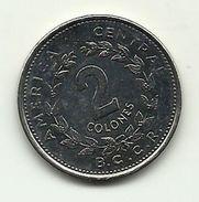 1984 - Costa Rica 2 Colones, - Costa Rica