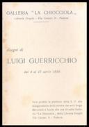PADOVA - 1956 - PIEGHEVOLE MOSTRA Gall. LA CHIOCCIOLA -  Disegni Di Luigi Guerricchio - Programmi