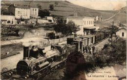 CPA LA SEAUVE La Gare (a4294) - Altri Comuni