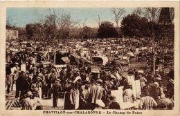 CPA CHATILLON-sur-CHALARONNE Le Champ De Foire (a4311) - Châtillon-sur-Chalaronne
