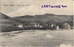 Liguria-savona-pietra Ligure Veduta Da Levante Primi 900 - Italia