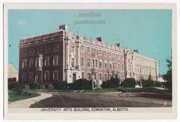 EDMONTON Alberta Canada, University Arts Building, C1940s Gowen Sutton Real Photo RPPC Vintage Postcard 8936 - Edmonton