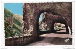 Vercors, Grands Goulets Les Tunnels, Carte écrite - France